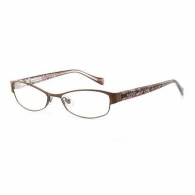 LUCKY BRAND Eyeglasses DELILAH Brown 52MM