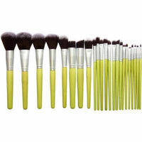 Bliss & Grace Professional Bamboo Make Up Brush Set, 23 pc