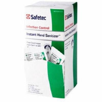 Safetec Infection Control Insant Hand Sanitizer 1/32 oz 4 Boxes ( 576 packets ) MS-89325