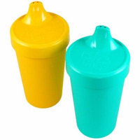 Re-Play 2 Pack Spill Proof Cups - Primary Colors