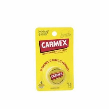 2 Pack - Carmex Moisturizing Lip Balm, Original 0.25oz Each