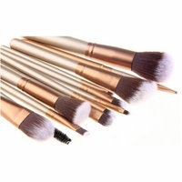Bliss & Grace Luxe Edition Make-Up Brush Set, 12 pc
