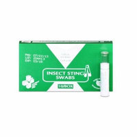 Pac-Kit Insect Sting Swabs with Benzocaine First Aid Kits 3 Boxes ( 30 swabs ) MS-60200