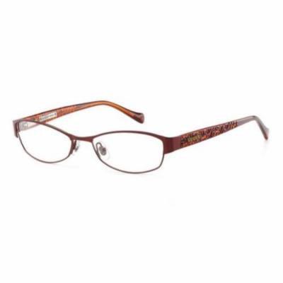 LUCKY BRAND Eyeglasses DELILAH Burgundy 52MM
