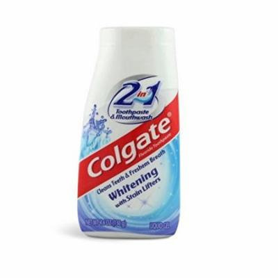 3 Pack - Colgate 2 in 1 Whitening Toothpaste, 4.6Oz Each