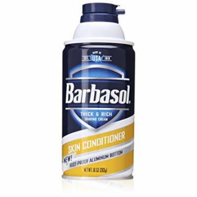 3 Pack - Barbasol Beard Buster Shaving Cream Skin Conditioner 10oz Each