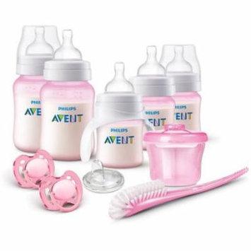 Philips Avent Anti-Colic Baby Bottle Newborn Starter Set, Pink, BPA-Free
