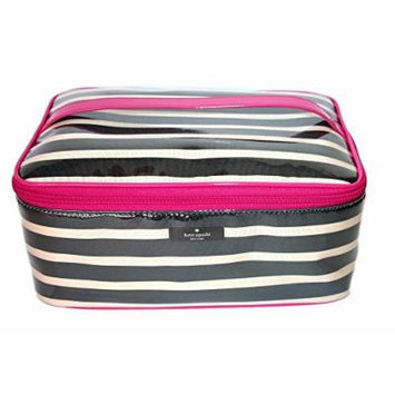 Kate Spade Large Colin 2 Piece Makeup Bag Travel Cosmetic Case