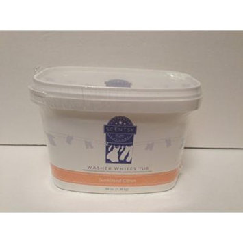 Layers by Scentsy Washer Whiffs (Sunkissed Citrus, 48 oz Tub)