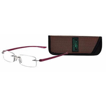 Select-A-Vision 5026 Flex2 Reading Glass, Burgundy, 2.75