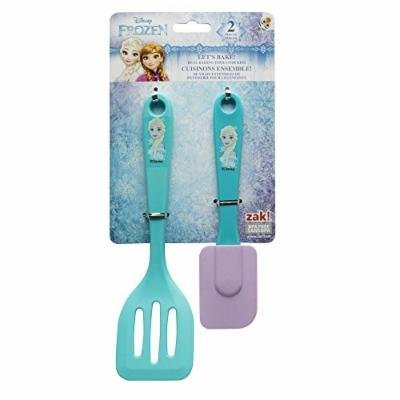 Zak Designs FZNN-S070 Disneys Frozen Elsa 2 Piece Kids Baking Set, Decorated