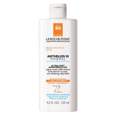 La Roche-Posay Anthelios 50 Body Mineral Tinted Sunscreen, SPF 50, 4.2 fl oz