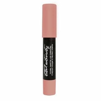 Total Intensity Total Matte Lip Crayon, No Matter What, 0.06 Ounce