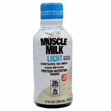 Cytosport Genuine Muscle Milk Protein Shake, Light Vanilla Creme, 12 Count