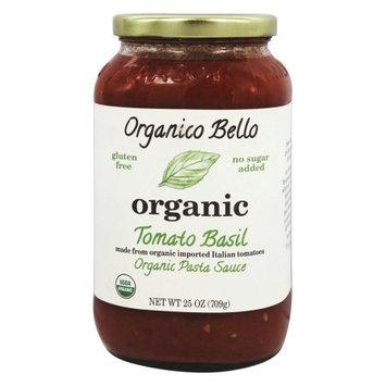 Organico Bello Organic Pasta Sauce Tomato Basil 25 oz