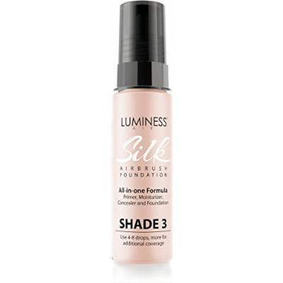 Luminess Air Airbrush Rich-Silky Finish Foundation, Shade Golden Beige SK3, 0.55 Fluid Ounce