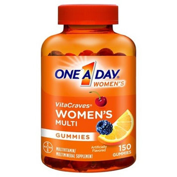 One A Day Women's VitaCraves Multivitamin / Multimineral Supplement Gummies - 150 Count