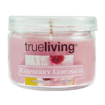 trueliving True Living Small Round Jar Candle - Raspberry Lemonade