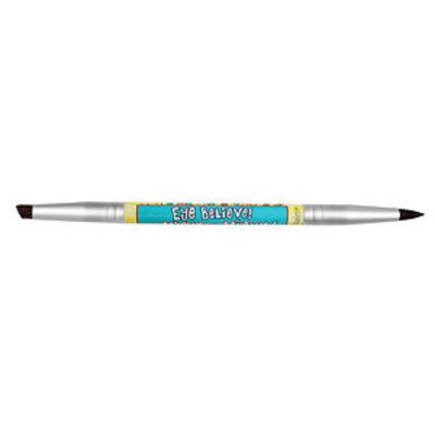 theBalm Eye Believe/ Women Empowderment-Double sided Eyebrow/Eyeliner Brush, 1 ea