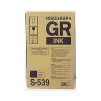 RISOGRAPH S539 INK CARTRIDGE, 2 CARTRIDGES, BLACK