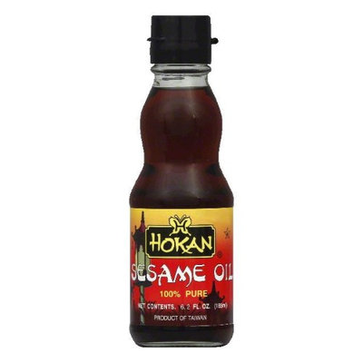 Hokan Oil, Sesame, Pure, 6.2 fl oz, - Pack of 6