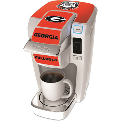 keurig K10 Decal U of Georgia