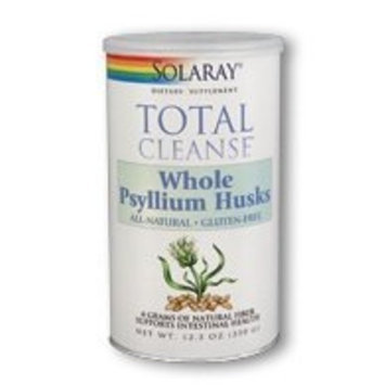 Solaray Total Cleanse Whole Psyllium Husks - 350 g