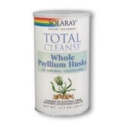 Solaray Total Cleanse Whole Psyllium Husks - 350 g