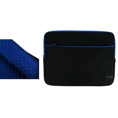 rooCASE Super Bubble Neoprene (Dark Blue / Black) Sleeve Case for Apple MacBook Pro MB990LL/A 13.3-Inch Laptop