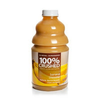 Dr. Smoothie Banana Smoothie 100% Crushed Fruit Smoothie Bottles, 46-Ounce