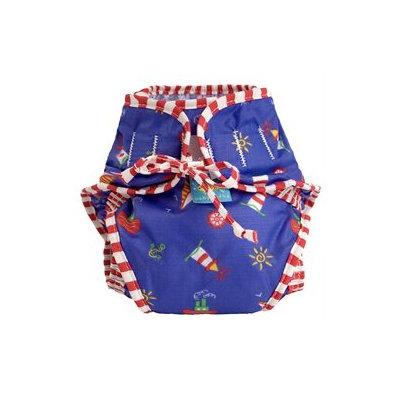 Kushies Baby Kushies Swim Diaper Sailboats - Medium