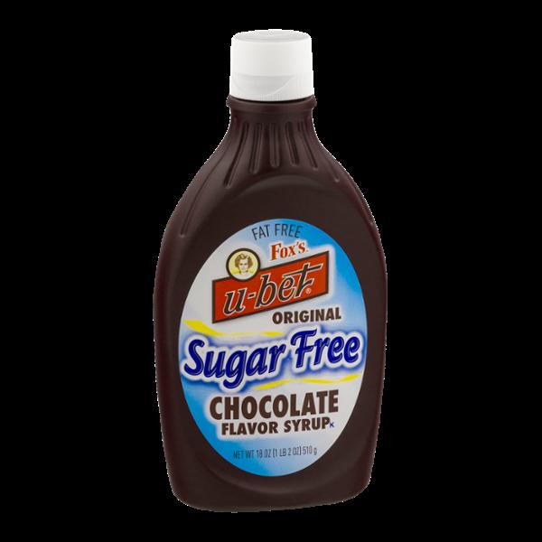 Fox's U-Bet Chocolate Flavor Syrup Sugar Free