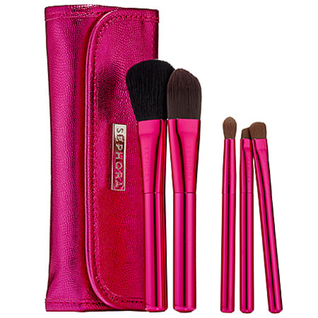 SEPHORA COLLECTION Skinny Brush Wrap Rose Quartz