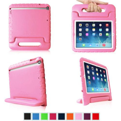Fintie Light Weight Shock Proof Convertible Handle Stand Cover Case Kids Friendly for Apple iPad Air / iPad 5, Pink