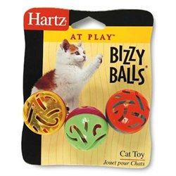 Hartz At Play Bizzy Balls Cat Toy 82183