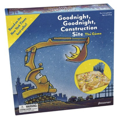 Pressman Goodnight Construction Site Game