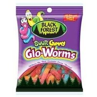 Black Forest Sour Gummy Glo-Worms 4.5 oz