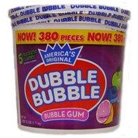 Concord Confections Dubble Bubble Assorted Bubble Gum 300 Count Tub