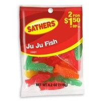 Ferrara Candy Company Sathers Ju Ju Fish