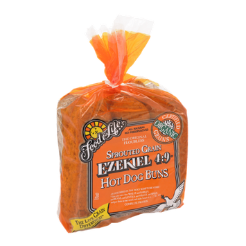 Food For Life Ezekiel 4:9 Sprouted Grain Hot Dog Buns