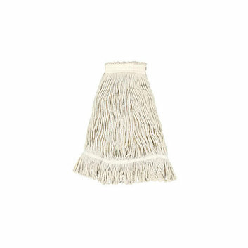 UNISAN Pro Loop Web / Tailband Mop Head with Value Standard Head in White