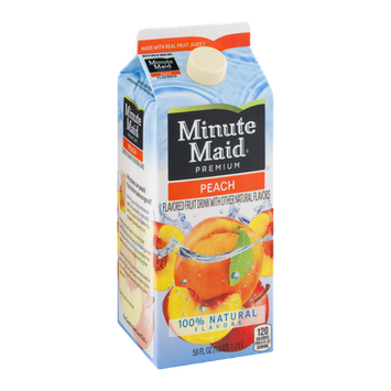 Minute Maid Premium Fruit Drink Peach