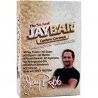 Jay Robb JayBar Cashew Coconut 12pk 1 lb 8 oz box