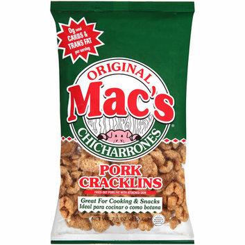 Mac's Chicharrones Mac's Original Chicharrones Pork Cracklins