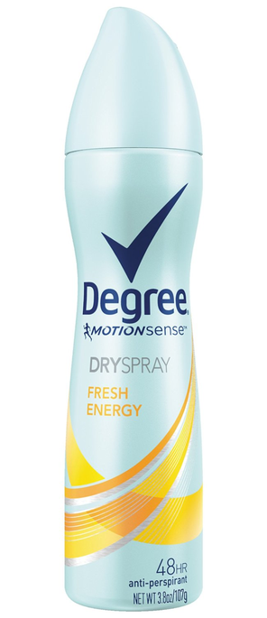 Degree Motion Sense Dry Spray - Fresh Energy
