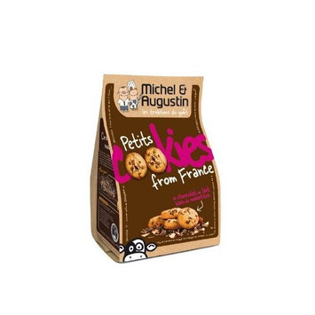 Michel Et Augustin Petits Cookies Au Chocolat Au Lait Et Aux Noisettes (Milk Chocolate & Hazelnuts), 5.64-Ounce (Pack of 3)