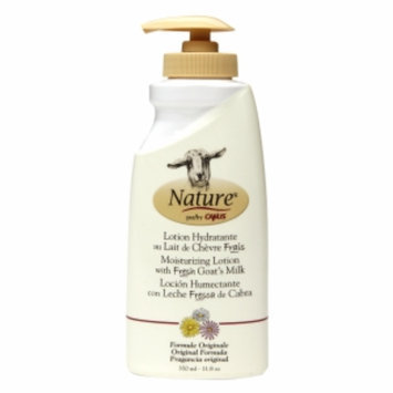 Nature by Canus Moisturizing Lotion with Fresh Goat's Milk, Original Formula, 11.8 oz
