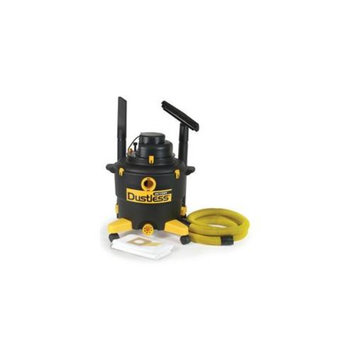 Dustless Technologies 16003 16 Gal Wet-Dry Vacuum with 12 ft. Hose