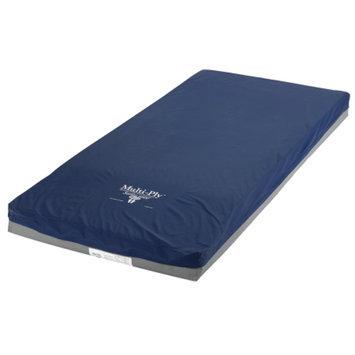 Mason Medical Multi-Ply Dynamic Elite Pressure Redistribution Foam Mattress, Blue, 80x36x6, 1 ea