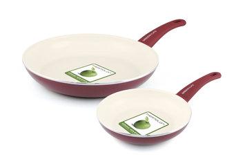 Recaro North GREEN LIFE Fry Pans 2PK Burgundy